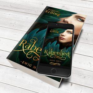 Zauberhafte BUCH COVER von Casandra Krammer